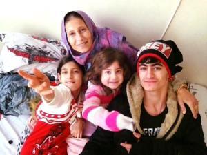 iraqi family in greece october 2015